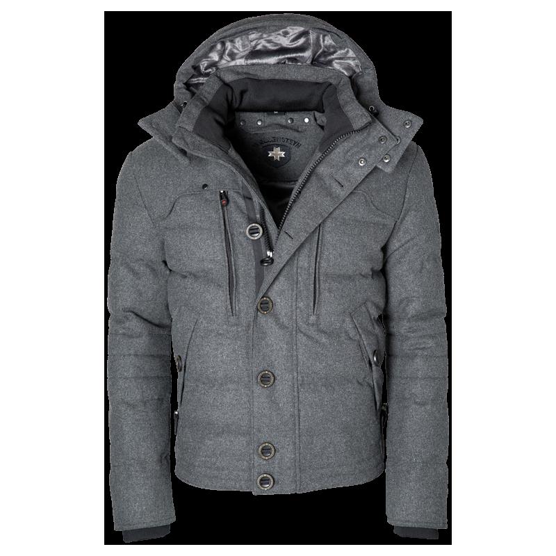 70d58e66 Sporty og smart Stardust herre jakke i flannel fra Wellensteyn ...