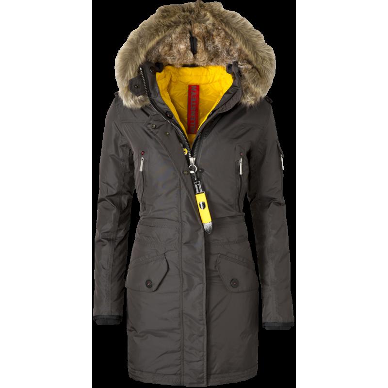 364bac25 High-fashion dun jakkke med blikfang - Snowdome Lady fra Wellensteyn ...