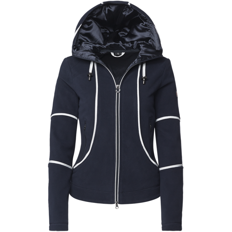 d248a8402fb Fleece jakke, vindtæt med feminint snit - Chimonix fra Wellensteyn ...