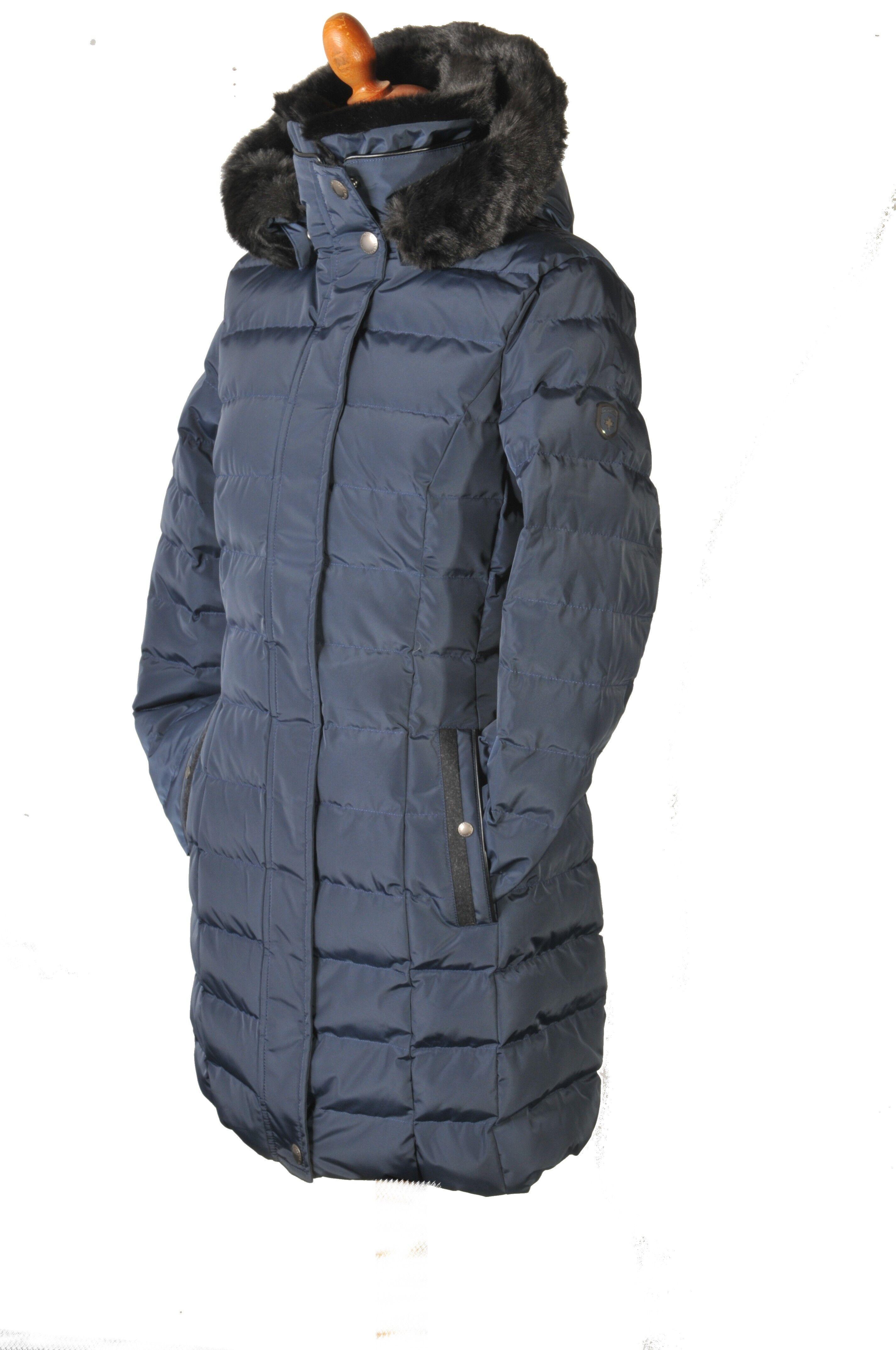 really cheap new style best wholesaler Lang vinterjakke der giver flot pasform - Santorin long fra Wellensteyn
