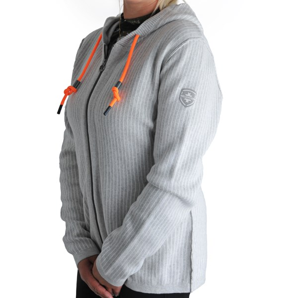 Image of   Damen Jacke - ny strik hoodies fra Wellensteyn