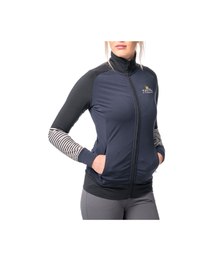 Image of   Fitted zipper jacket - Kastel Denmark