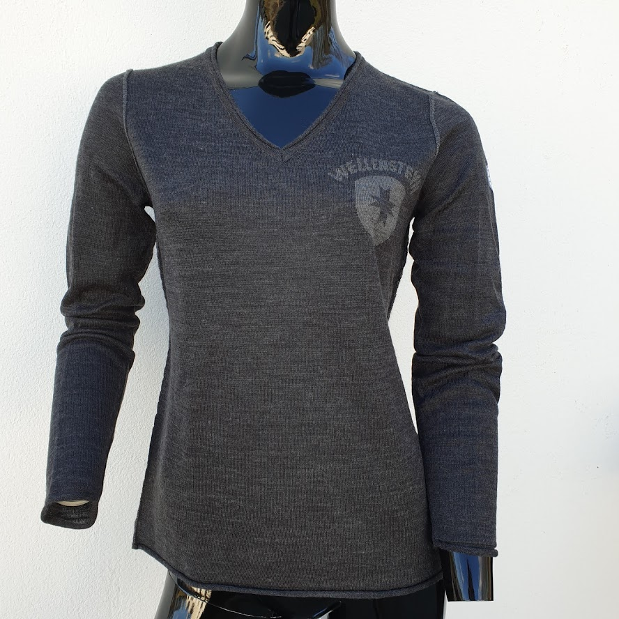 Image of   DP006 dame strik pullover fra Wellensteyn